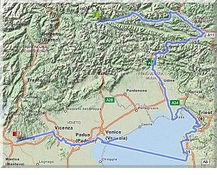 Dolomiten-Adria-Tour - Zusammenfassung