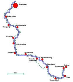 Spreeradweg - Ebersbach-Bautzen